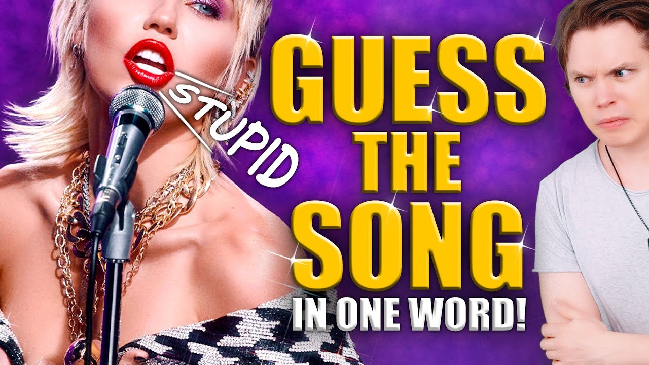 Guess the Song From Hearing ONLY ONE Word