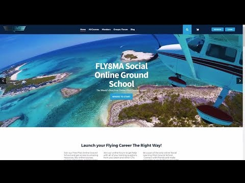 GS: NEW! Free Online Ground School for Pilots!