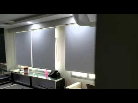 Rivervale Delta - PVC Blackout Roller blinds