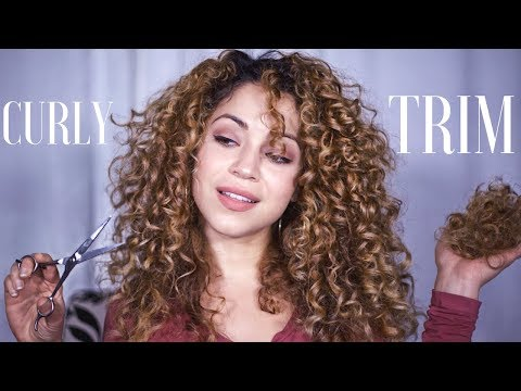How I Trim My Curly Hair