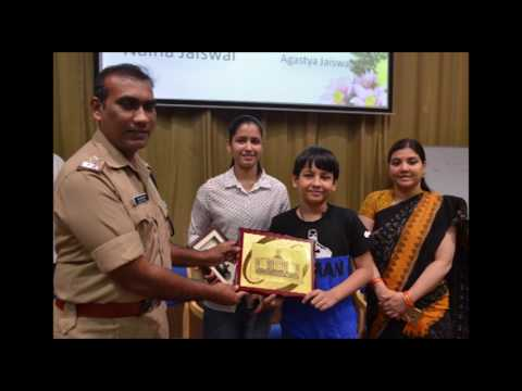 Naina jaiswal at Sardar Vallabhai Patel National Police Academy ...IPS Training..