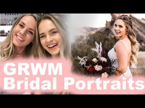 GRWM Bridal Portraits! + Q&A with my sister! - KayleyMelissa