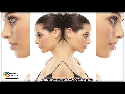 Easy Mirror Image with Photoshop (Philips G Graphics)