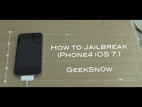 iOS 7.1 仮脱獄方法 Geeksn0w版 How to Jailbreak iOS 7.1