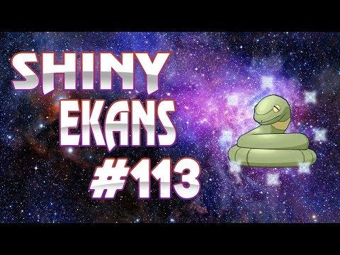 Live Shiny Ekans Reaction - Road to Shiny Living Dex