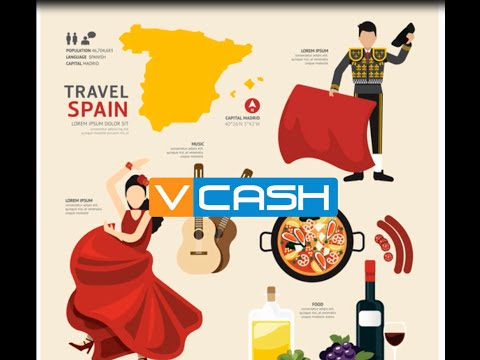 Send Money from Spain to your VCASH mobile wallet in Nigeria