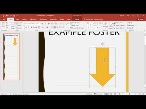 Visual Digital Presentation - Digital posters created using PowerPoint and saved as PDF