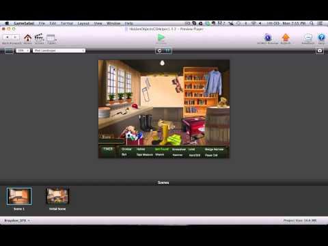 GameSalad Template: Hidden Objects