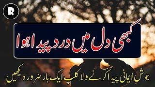 Dil mein kabhi dard peda hua hai??   Islami Urdu Bayan   Religion.PK