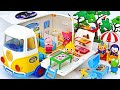 Baby Shark Pinkfong Lets Take A Pororo Camping Car To The Woods PinkyPopTOY