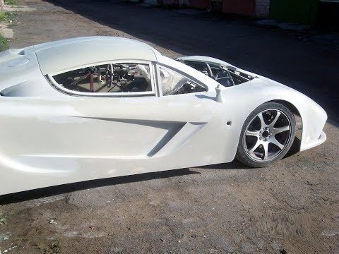 Mclaren F1 replica build Body Kit - Homemade supercar