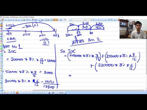 class 6 NCERT question on interest of capital [ FUNDAMENTAL OF PARTNERSHIP ] CLASS 12 CBSE ISE