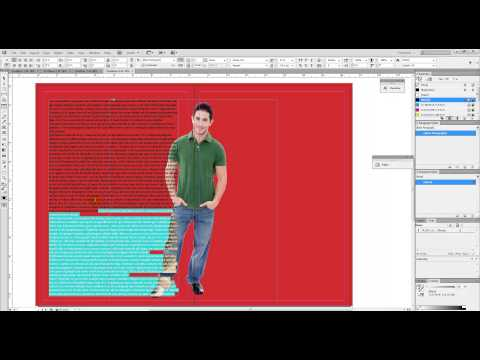 How Wrap Text Around An Object In InDesign