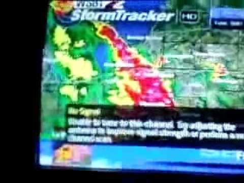 TV Signal Lost During Severe Weather On August 4, 2012