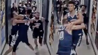 New LEAKED Footage Shows Nevada Players STORMING Utah State