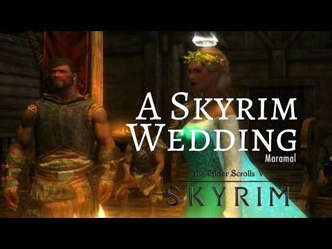 Skyrim Remastered Edition:  A Wedding in Skyrim