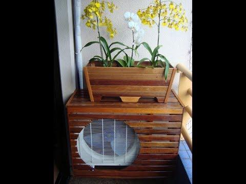 Air Conditioner hiding ideas