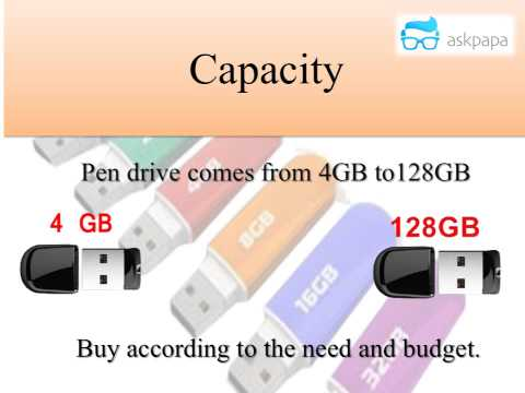 Buying Guide Pen drive / USB Drive - Shortest Video