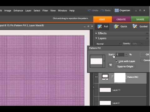 Digital Scrapbooking Designer - Creating Polka Dot Papers (Part 1)