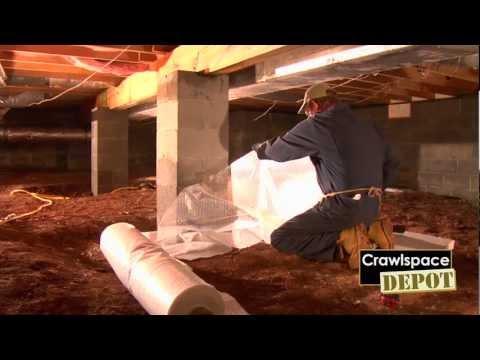 Part 4: Crawlspace Depot DIY Installation