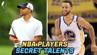 NBA Players With Crazy HIDDEN Talents!