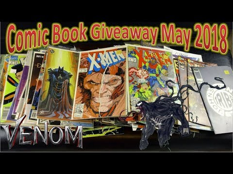 Comic Book Giveaway May 2018 | Enter To Win!