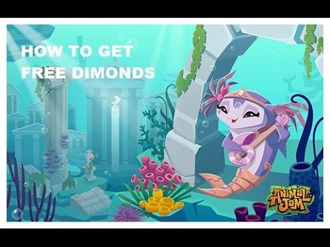 **HOW TO GET FREE DIAMONDS ON ANIMAL JAM**