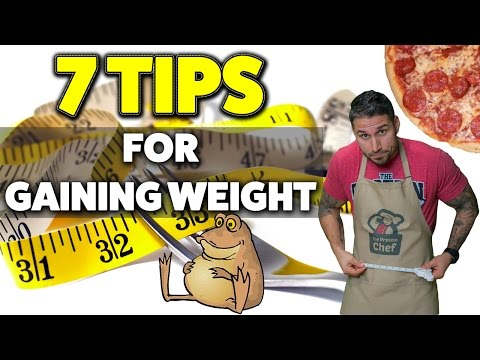 How To GAIN WEIGHT Without Getting FAT