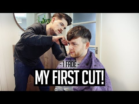 My First Barber Haircut... By MYSELF!