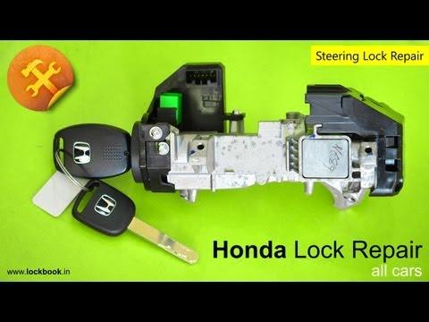 Honda Ignition Lock Repair | Key stuck