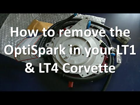 How to remove the OptiSpark Distributor on your LT1 & LT4 Corvette