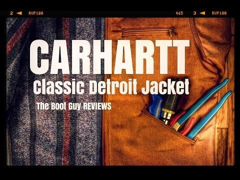 CARHARTT #J001 DUCK DETROIT JACKET [ The Boot Guy Reviews ]