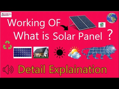 How & What is Solar Panel in Hindi ? Exact and Accurate Explanation [Technical Library]