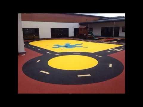 Play Area BS EN 1177 Rubber Tarmac Flooring Professionals