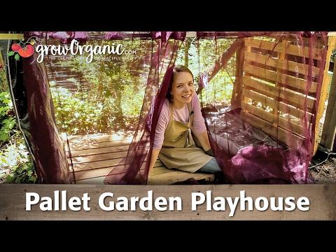 Pallet Garden Playhouse