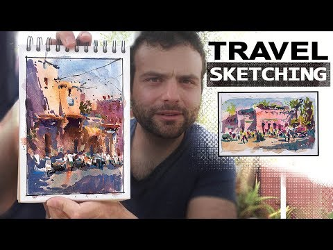 Travel Sketching - Capturing the Feel of a Place