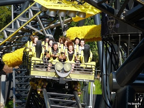 THE SMILER UPDATE ALTON TOWERS NEW RIDE 2013