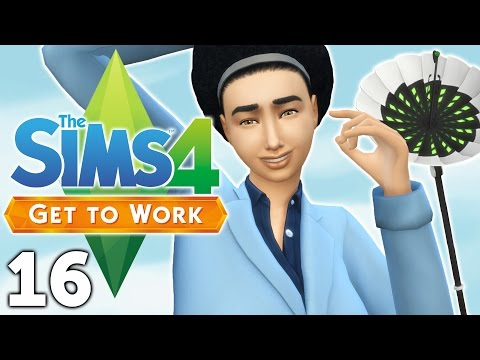 Let's Play The Sims 4 Get to Work - Part 16 - Satellite Dish!