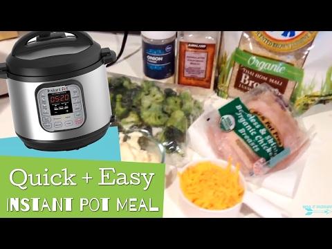 Quick + Easy Instant Pot Meal || Chicken Divan