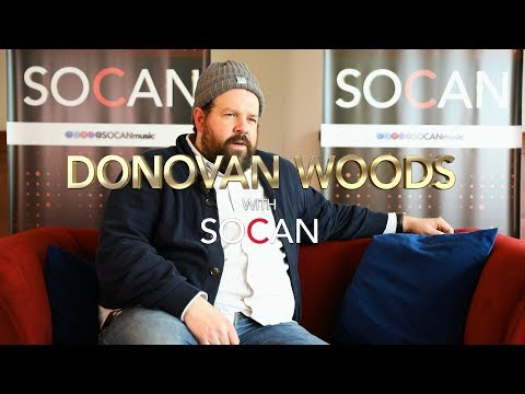Donovan Woods with SOCAN