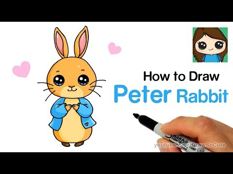How to Draw Peter Rabbit Easy