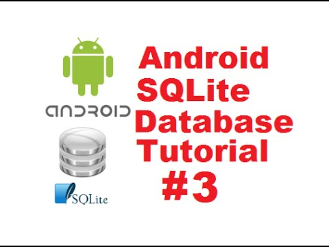 Android SQLite Database Tutorial 3 # Insert values to SQLite Database table using Android
