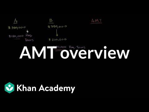 AMT overview | Taxes | Finance & Capital Markets | Khan Academy