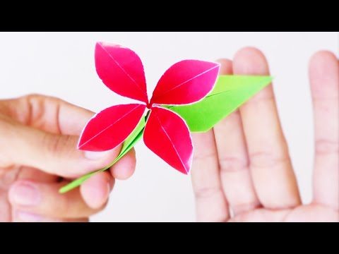 Flor Fantastica De Papel Origami Playithub Largest Videos Hub