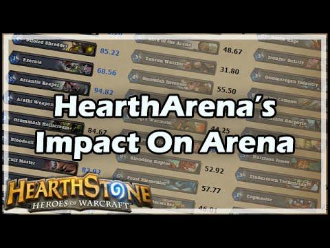 [Hearthstone] HearthArena's Impact On Arena