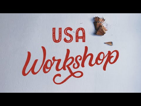 USA Logotype Workshop Announcement!