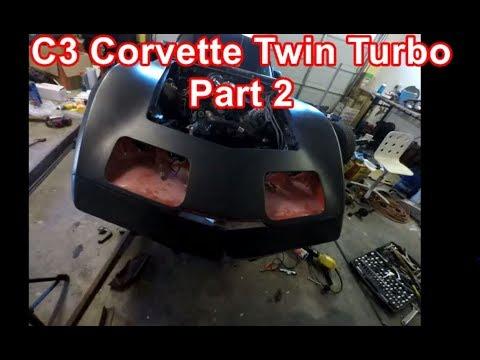 C3 Corvette Twin Turbo Part 2