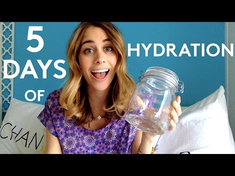 5 Days Of Hydration | Try Living With Lucie | Refinery29