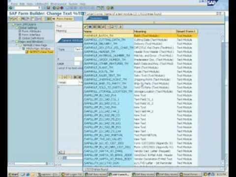 Creation of Text Module in Smartforms(Smart forms)