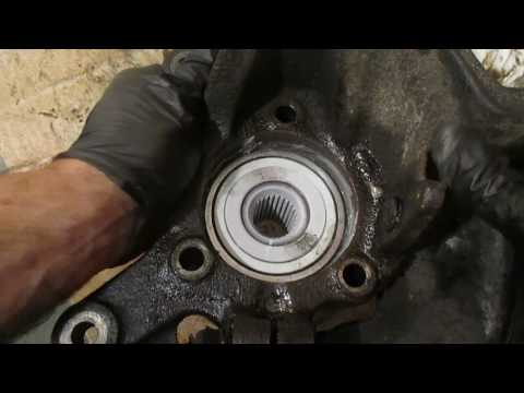 How to Install a wheel bearing in a steering knuckle
